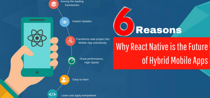 6 Reasons Why React Native Apps is the Future of Hybrid Mobile Apps