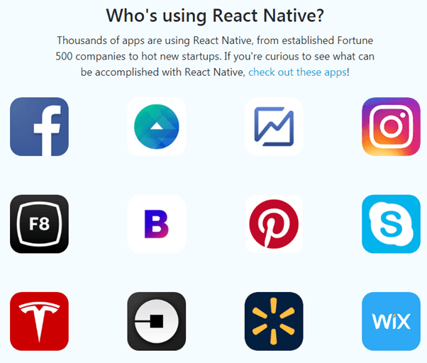 React Native has managed to gain massive popularity