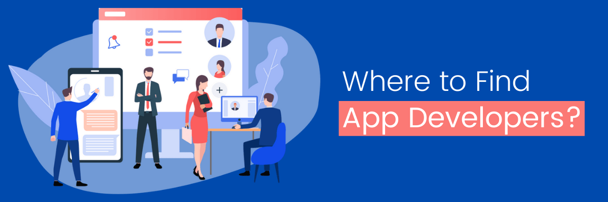 Where to Find the App Developers?