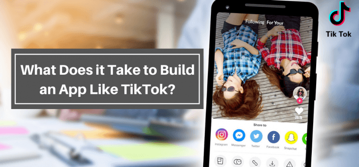 What Does it Take to Create an App Like TikTok?