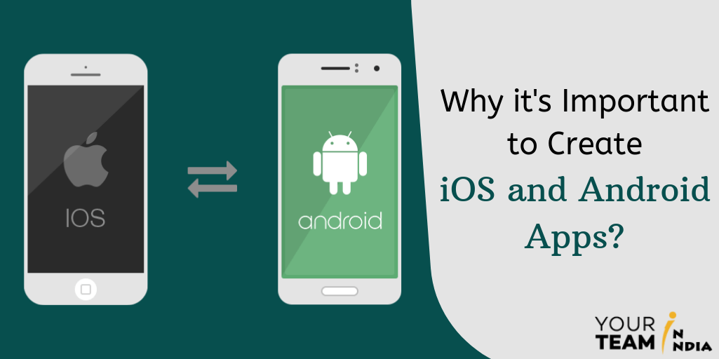 Why it's Important to Create iOS and Android Apps - YourTeaminIndia