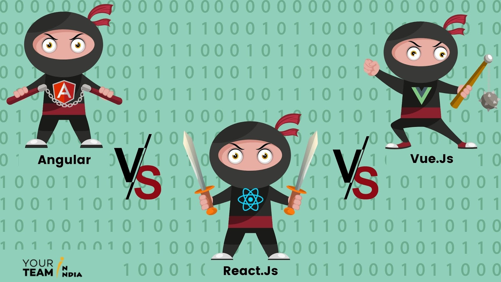 Angular vs. React vs. Vue.js – How To Choo...